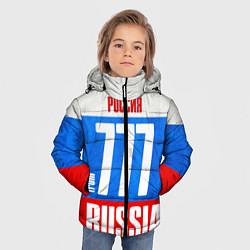 Детская зимняя куртка для мальчика с принтом Russia: from 777, цвет: 3D-черный, артикул: 10097333606063 — фото 2