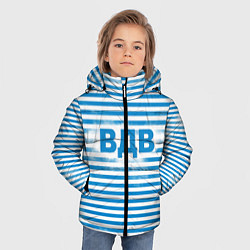 Детская зимняя куртка для мальчика с принтом ВДВ, цвет: 3D-черный, артикул: 10098332606063 — фото 2