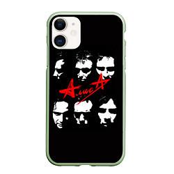 Чехол iPhone 11 матовый Группа АлисА