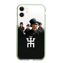 Чехол iPhone 11 матовый Пикник