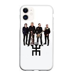 Чехол iPhone 11 матовый Группа Пикник