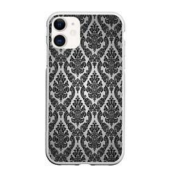 Чехол iPhone 11 матовый Гламурный узор