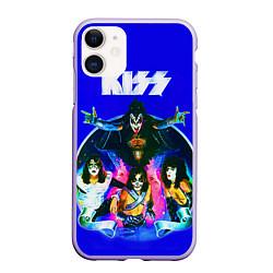 Чехол iPhone 11 матовый Kiss Show