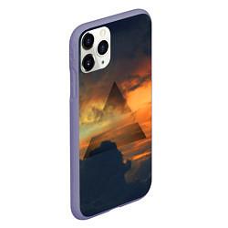 Чехол iPhone 11 Pro матовый 30 seconds to mars цвета 3D-серый — фото 2