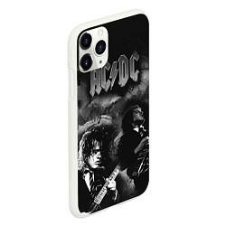 Чехол iPhone 11 Pro матовый AC/DC цвета 3D-белый — фото 2