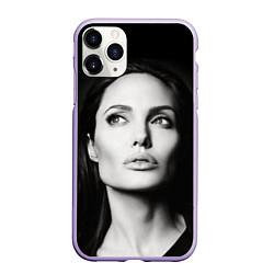 Чехол iPhone 11 Pro матовый Mono Jolie цвета 3D-светло-сиреневый — фото 1
