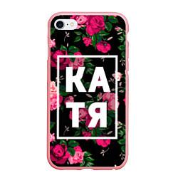 Чехол iPhone 6 Plus/6S Plus матовый Катя