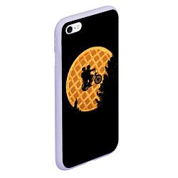 Чехол iPhone 6/6S Plus матовый Wafer Rider цвета 3D-светло-сиреневый — фото 2
