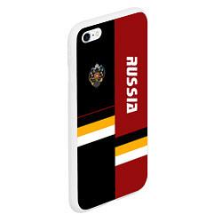 Чехол iPhone 6/6S Plus матовый Russian Empire цвета 3D-белый — фото 2