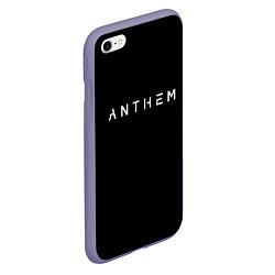 Чехол iPhone 6/6S Plus матовый ANTHEM: Black Style цвета 3D-серый — фото 2