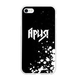 Чехол iPhone 6/6S Plus матовый Ария цвета 3D-белый — фото 1