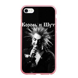 Чехол iPhone 6/6S Plus матовый Король и Шут Анархия спина цвета 3D-баблгам — фото 1