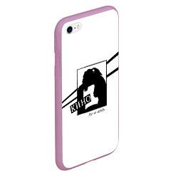 Чехол iPhone 6/6S Plus матовый Кино цвета 3D-розовый — фото 2