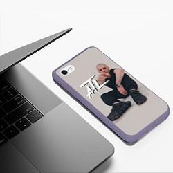Чехол iPhone 6/6S Plus матовый ATL цвета 3D-серый — фото 2