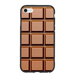 Чехол iPhone 6 Plus/6S Plus матовый Шоколад