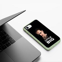 Чехол iPhone 7/8 матовый Little Big: Илья Прусикин цвета 3D-салатовый — фото 2