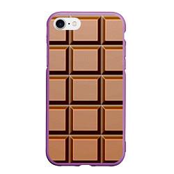Чехол iPhone 7/8 матовый Шоколад