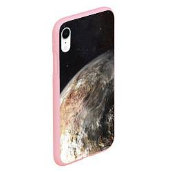 Чехол iPhone XR матовый Плутон цвета 3D-баблгам — фото 2