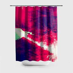 Шторка для душа Брызги красок цвета 3D — фото 1