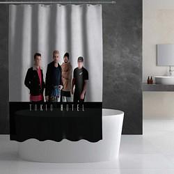 Шторка для душа Tokio Hotel цвета 3D — фото 2