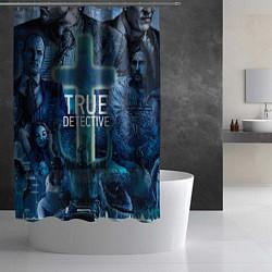 Шторка для душа True Detective: Religion цвета 3D — фото 2