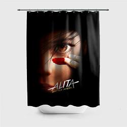 Шторка для душа Alita: Battle Angel цвета 3D — фото 1