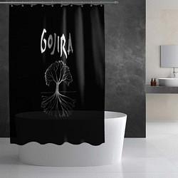 Шторка для душа Gojira: Tree цвета 3D — фото 2