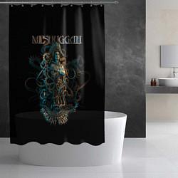 Шторка для душа Meshuggah: Violent Sleep цвета 3D — фото 2