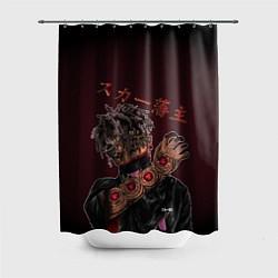 Шторка для душа SCARLXRD: Dark Man цвета 3D — фото 1