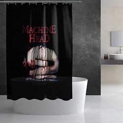Шторка для душа Machine Head: Catharsis цвета 3D-принт — фото 2