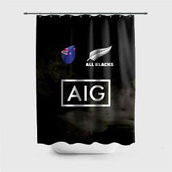 Шторка для душа ALL BLACKS цвета 3D — фото 1