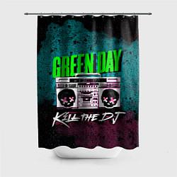 Шторка для душа Green Day: Kill the DJ цвета 3D — фото 1