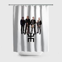 Шторка для ванной Группа Пикник
