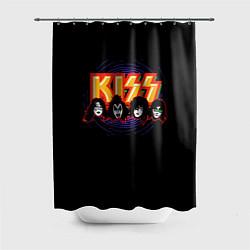 Шторка для ванной KISS: Death Faces