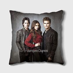 Подушка квадратная Vampire Trio цвета 3D — фото 1