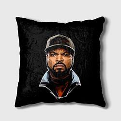 Подушка квадратная Ice Cube цвета 3D-принт — фото 1