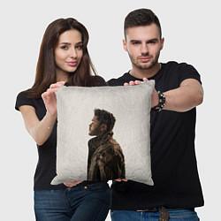 Подушка квадратная The Weeknd цвета 3D — фото 2