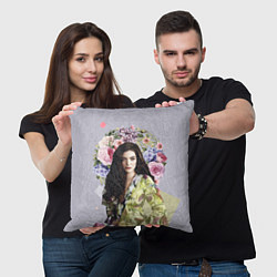Подушка квадратная Lorde Floral цвета 3D — фото 2