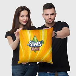 Подушка квадратная The Sims: Roaring Heights цвета 3D — фото 2