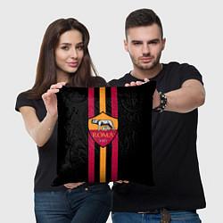 Подушка квадратная FC Roma 1927 цвета 3D-принт — фото 2