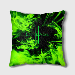Подушка квадратная LINEAGE 2 цвета 3D — фото 1
