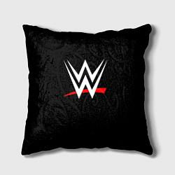 Подушка квадратная WWE цвета 3D — фото 1