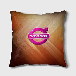 Подушка квадратная Volvo цвета 3D — фото 1