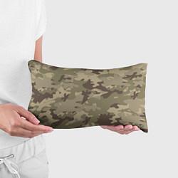 Подушка-антистресс Камуфляж: хаки цвета 3D — фото 2