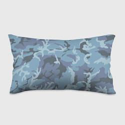 Подушка-антистресс Камуфляж: голубой/синий цвета 3D — фото 1