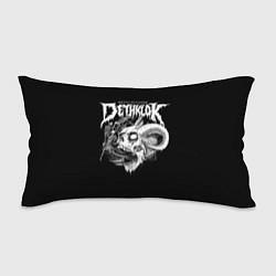 Подушка-антистресс Dethklok: Goat Skull цвета 3D-принт — фото 1