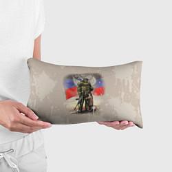 Подушка-антистресс Солдат и дитя цвета 3D — фото 2