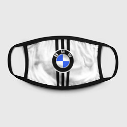 Маска для лица BMW: Black Strips цвета 3D-принт — фото 2