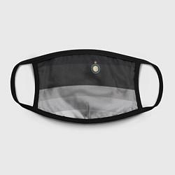 Маска для лица ФК Интер: Серый стиль цвета 3D-принт — фото 2