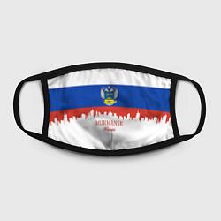 Маска для лица Murmansk: Russia цвета 3D-принт — фото 2
